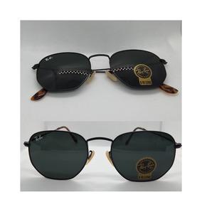 e6d70fb39a6 Rayban Hexagonal 54mm - Óculos De Sol Ray-Ban no Mercado Livre Brasil