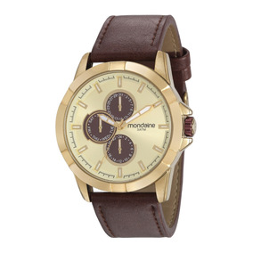 Relógio Masculino Mondaine 99226gpmvdh1 Verão