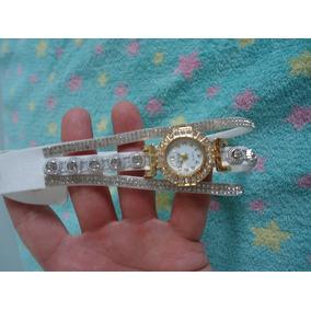 Pulseira Relógio Branco