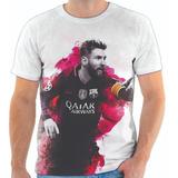 ed8c721dcb Camiseta Camisa Blusa Jogador Lionel Messi Futebol 004