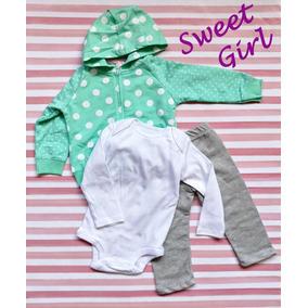 Ropa Para Bebé Pañalero + Chamarra O Sudadera + Pantalón