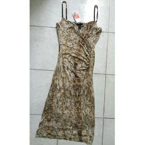 Envío Gratis Vestido Ajustado Mng Collection Dama Talla Med