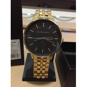 d27b7ebf4c8 Relogio Rip Curl Detroit Gold - Relógios no Mercado Livre Brasil