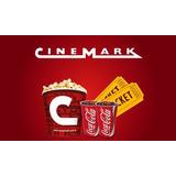 Entrada Cinemark Combo Oferta 2 Entradas+pop Corn+2 Gaseosas