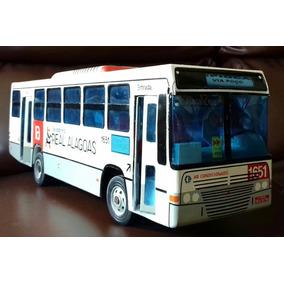 Ônibus Miniatura Carro Para Coleção