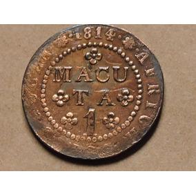 Angola 1 Macuta 1814 Cobre 11 G Mbc/sob Diam 35 Mm Afr Port.