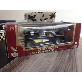 Corvette Gasser 1957 1/18 Road Legends Na Caixa