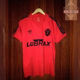 Camisa Flamengo Retrô - Remo 1895 - Vermelha E Preta b2b76b8967572