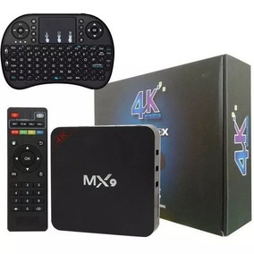 Transforma Tv Em Smart Mx9 + Teclado Netflix Youtube Google