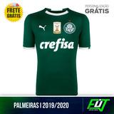 Nova Camisa Palmeiras Verde Original 2019 Frete Grátis
