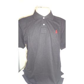 Camisa Polo By Ralph Lauren Preto Cavalo Vermelho Tam G- f6ff2376391