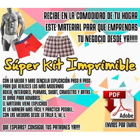Kit Imprimible De Ropa Interior Caballeros