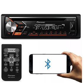 Cd Player Pioneer Deh S 4080bt Bluetooth Usb Frontal