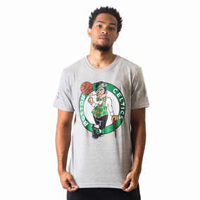 Camiseta New Era Boston Celtics Cinza - Nba dfcc4353ca3