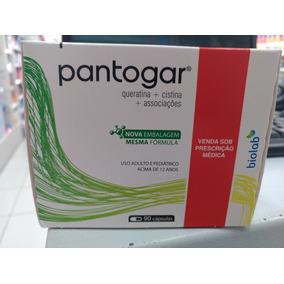 Pronta Entrega!!! Pantogar Com 90 Capsulas Original