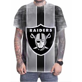 67fddfc49 Camisa Futebol Americano Raiders Da - Camisetas no Mercado Livre Brasil