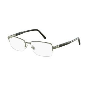 ff01ba2cccd21 Armação De Óculos Montblanc (cinza Claro) - Óculos no Mercado Livre ...