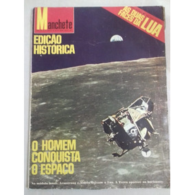 Revista Manchete: As Dua Faces Da Lua- 1970