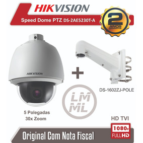 Speed Dome Hikvision Ptz Ds-2ae5230t-a 30x Hd 1080p 5 Pol.