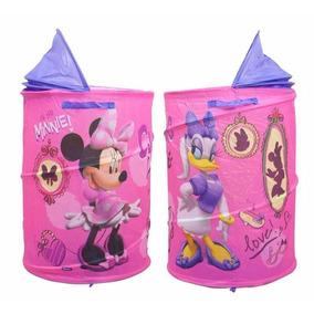 Porta Objeto Cesto Portatil Minnie Zippy Toys Promoção