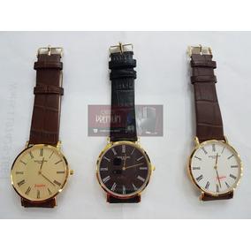 8e35e0da953 Relogio C167 Luxo Patek Phillip Dourado Slim G488 C  Estojo