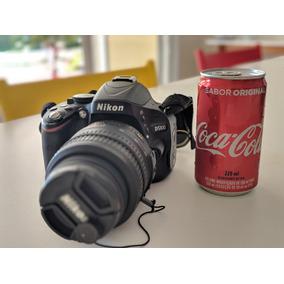 Camera Dslr Nikon D5100, Lentes Nikon 18-55mm E 55-300mm