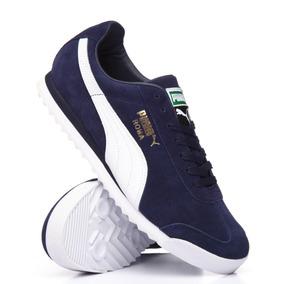 Tenis Puma Roma Factory Ftwdm Dark Blue Hombre No. 36543702