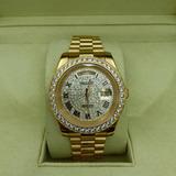 640ddd28b50 Rolex Automatico Cravejado De Brilhantes no Mercado Livre Brasil