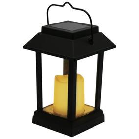 Luminária Solar Portátil Vela Decorativa