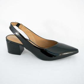 7cf41c852b9 Sapato Corello Chanel Social Preto Mulher - Sapatos no Mercado Livre ...