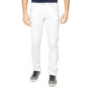 Calca Branca Masculina Skinny Calça Tng 12x S/ Juros