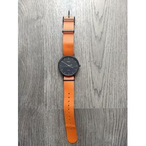 349479aa6395 Timex T2m428 Lindo Relógio Preto E Laranja - Relógios no Mercado ...