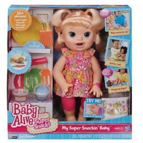 ba837c22b8 Baby Alive Comilona Loira Barata Português - Bonecas no Mercado ...