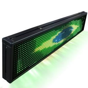 Letreiro Digital De Led 1 Metro Por 20cm Configuravel + Soft