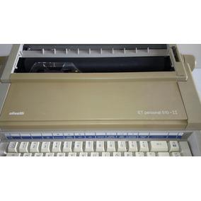 Maquina De Escrever Eletrica Olivetti Et Personal 510 .ii