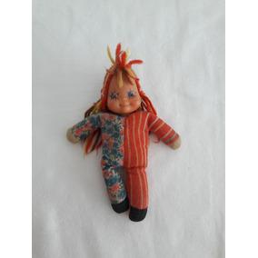 Boneca Antiga Emilia Estrela Anos 1980 Usada Coleção