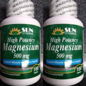 Magnesio Americano 500 Mg 200 Capsulas
