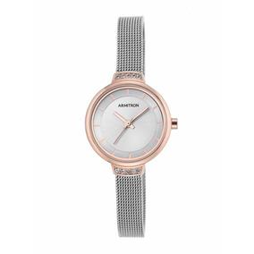Reloj Mujer Armitron Original Plata-negro Ultima Pz Oferta! 2 vendidos -  Guanajuato · Reloj Dama Armitron Color Oro plata Swarovski 755476svtr 6c653961a342