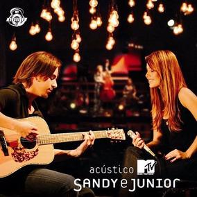 Cd Sandy E Junior Acústico Ao Vivo (lacrado) Frete Gratis