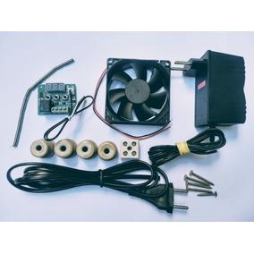 Kit Chocadeira Termostato+fonte+resistencia+cooler+cabo Acd1