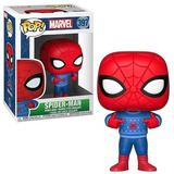 Funko Pop! Marvel Spiderman - Spiderman (holiday) - Funko Po
