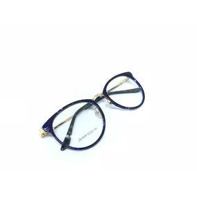 Oculos Gatinho Redondo Armação Onça Outras Marcas - Óculos no ... 28dd43b3dd