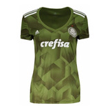 Camisa Feminina Palmeiras adidas Verde 2018 Iii