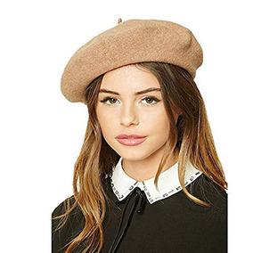 Sombrero De Boina - Boina De Color Sólido De Lana Clásica 332a9a283c3