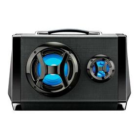 Caixa De Som Multilaser Bluetooth Led Com Microfone Sp217