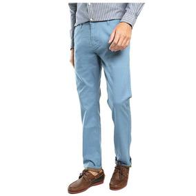 Pantalón Dockers Original Slim 28 Cintura X 32 Largo Azul