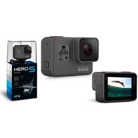 Go Pro Hero5 Black Camera Gopro 5 Tela Lcd +64gb +2 Bastao