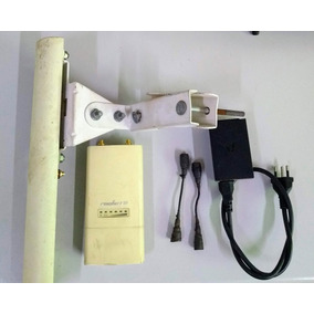 Kit Basestation + Rocket M5 + Pigtail + Fonte Poe ( Usado )
