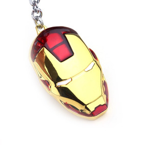 Chaveiro Máscara Homem De Ferro Os Vingadores Comics