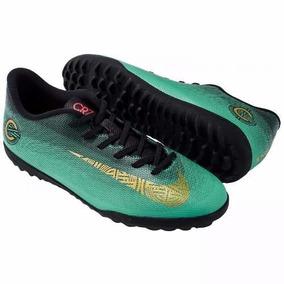 617a9dbcee1c8 Chuteira Society Nike Azul - Esportes e Fitness no Mercado Livre Brasil